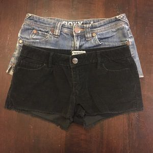 Roxy shorts bundle